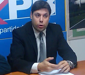Iván Alonso, presidente del PB