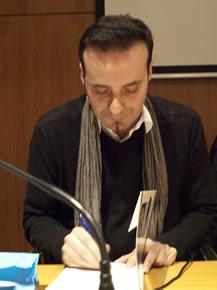 Carlos Fidalgo en Tardes de Autor (Foto: Manuel Cuenya)