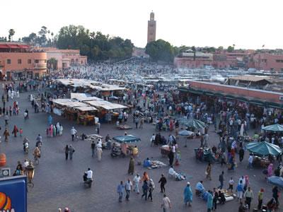 Plaza de Djemaa