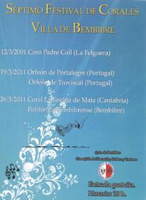 Cartel del VII Festival de Corales