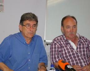 Los dos candidatos juntos, en una imagen de archivo