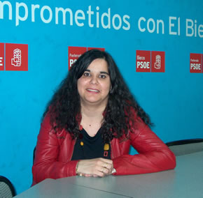 Mari Carmen González Carracedo, candidata socialista al ayuntamiento de Congosto