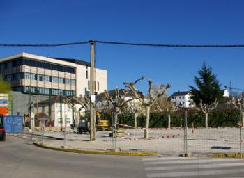 Las obras de la plaza Santa Bárbara ya han comenzado