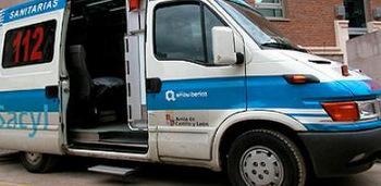 Los heridos fueron trasladados al Hospital del Bierzo