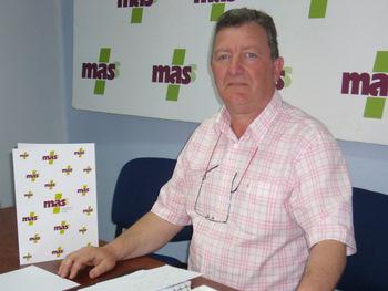El candidato del MASS busca la transparencia municipal