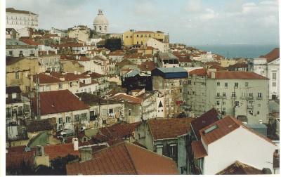 Vista panorámica de Lisboa