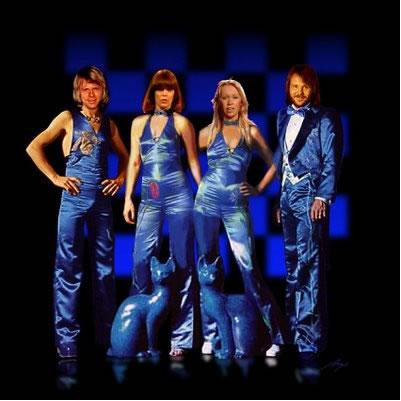 Las llamativas vestimentas de ABBA eran una forma de identificarse  y llamar la atención