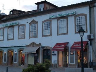 El restaurante Solar Bragançano