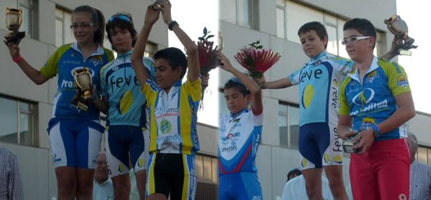 Raúl Camino y Moisés Lopes en lo más alto del podium