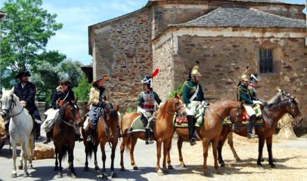 Recreación napoleónica - San Pedro Castañero