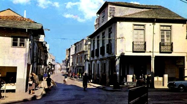 La Calle Escobar a mediados del siglo pasado
