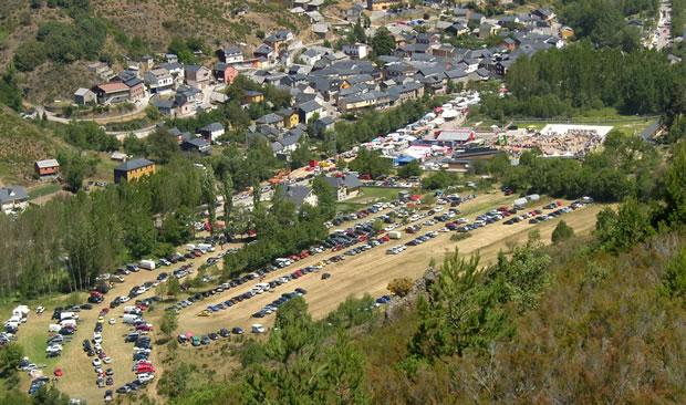 Vista del circuito de trial en Pobladura de las Regueras, incluido en el futuro Parque Motor de El Bierzo