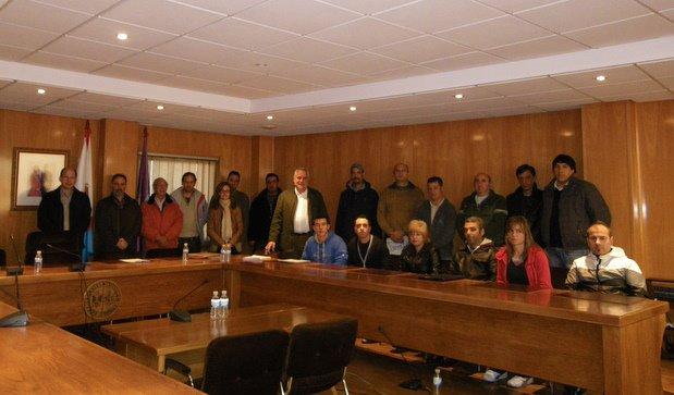 Un momento de la presentación del taller de empleo