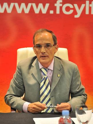 Marcelino Maté, presidente de la FCYLF