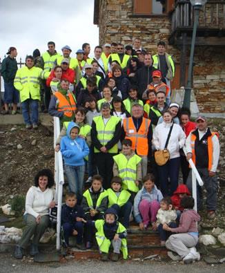 Participantes en Geolodía 2011