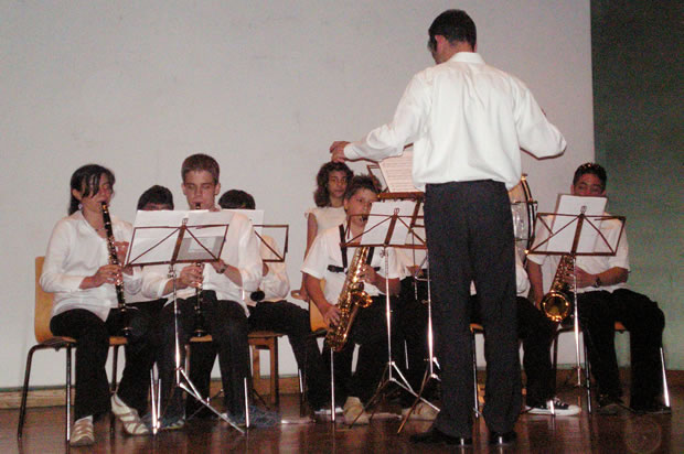 Primer concierto en 2006