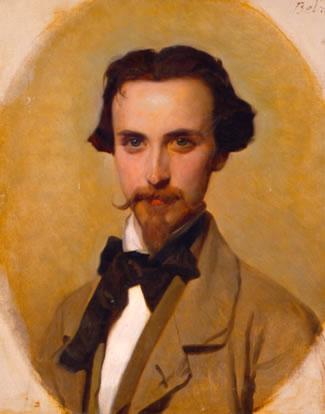 Retrato de Leopoldo Sánchez Díaz (1857), por Federico de Madrazo
