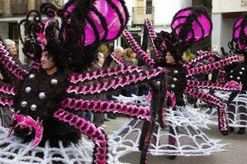 El grupo de Las Arañas no se llevó ningún premio en el desfile