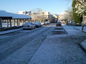 La última nevada en Bembibre fue en diciembre de 2010