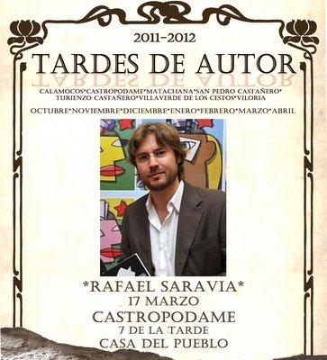 Rafael Saravia es el nuevo protagonista del ciclo de Castropodame