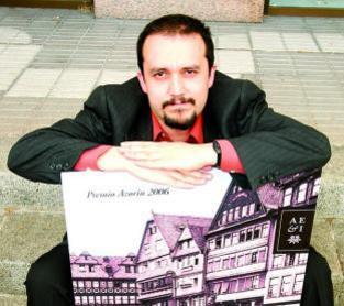 Imagen del protagonista de las Tardes de Autor