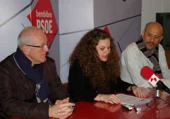 Roberto Camblor, Silvia Cao y Manuel Ángel Rey (foto de archivo)