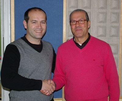 Jesús Blanco (izquierda) y Claudio Fernández (derecha)