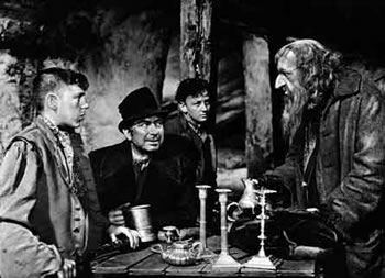 Fotograma de la película Oliver Twist, de David Lean