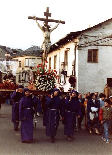Cristo de la Agonía o de los Faroles. Década de 1970