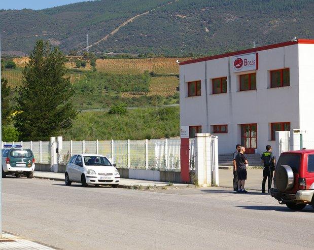 La Guardia Civil procedió al precinto de los bienes muebles