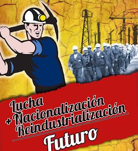 Cartel de las Juventudes Comunistas de Castilla y León