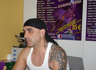Carlos Vieira, en rueda de prensa explicando los detalles