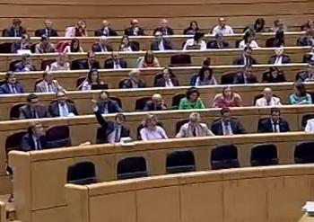 En la bancada del PP sólo Juan Morano votó a favor