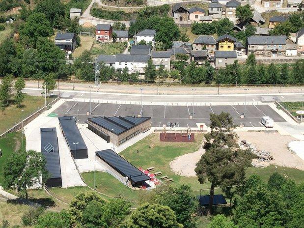 Zona donde se podrán ubicar las autocaravanas