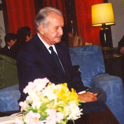 Carlos Fuentes en Oviedo