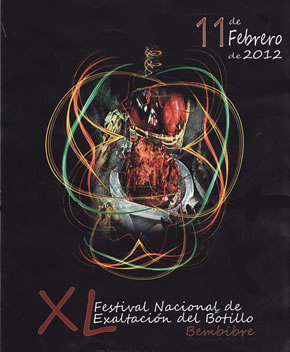 Detalle del cartel ganador de la última edición