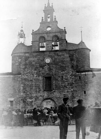 Iglesia de San Pedro en 1928