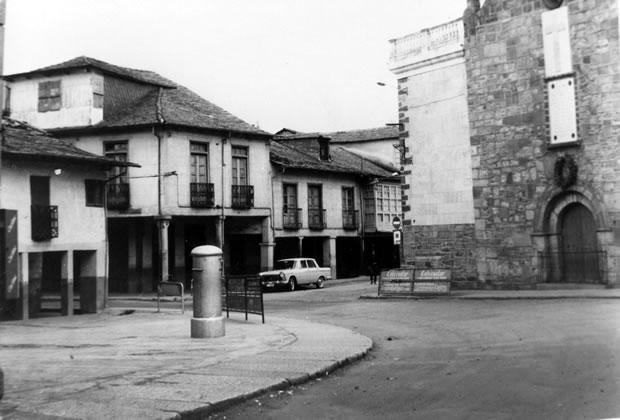 Parte de la Plaza Mayor - años 60