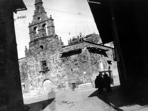 Reconstrucción de la Iglesia de San Pedro - 1939