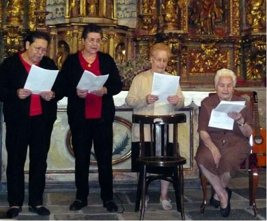 Rosa Viloria,  Aurora Viloria, Inés Silván, Rosa Silván