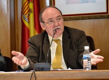 El alcalde, Manuel Otero, durante una intervención en el pleno