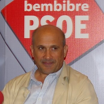 El portavoz socialista Manuel Ángel Rey