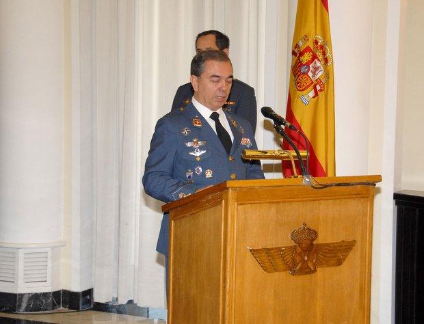 García Smert participará el sábado en el botillo de San Pedro / Foto: Ejército del Aire