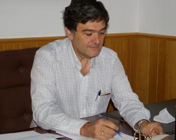 El alcalde de Torre del Bierzo, Manuel Merayo