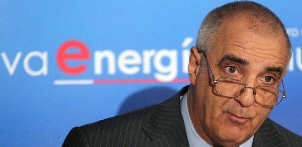 El empresario durante su participación en un foro de energía. Foto: León Noticias