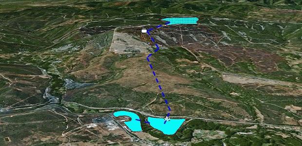 Imágenes de ubicación (arriba) e interior central (abajo) según el proyecto al que ha tenido acceso Bembibre Digital