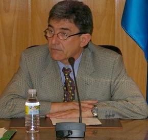 Imagen de archivo de Jesús Esteban en una sesión plenaria