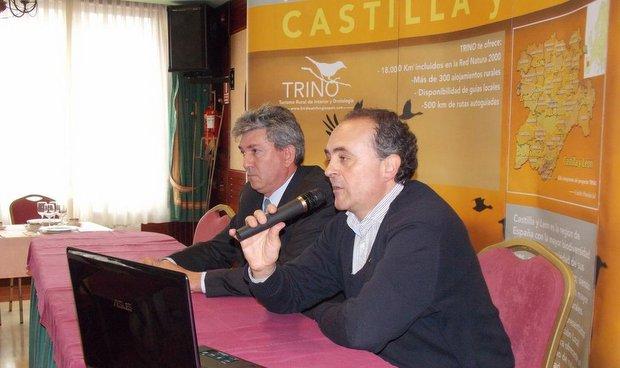 Un momento de la presentación del proyecto / Foto: Cristina Domínguez