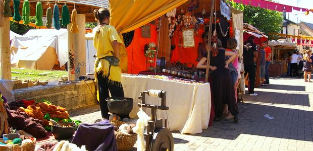 Imagen de archivo de una edición del mercado medieval en Bembibre