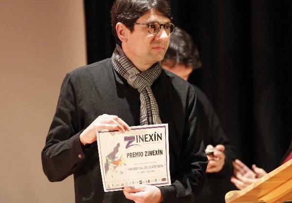 Imagen de archivo de la entrega del premio Zinexin